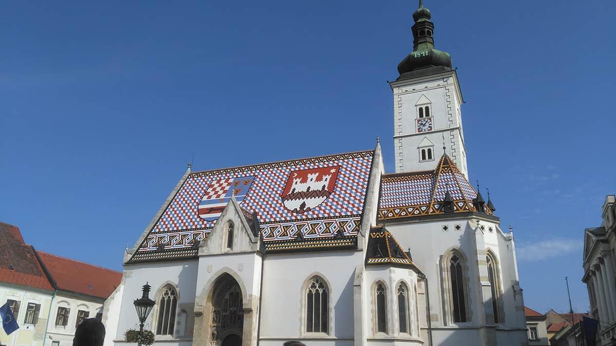 St Marks Church, Zagreb, Croatia